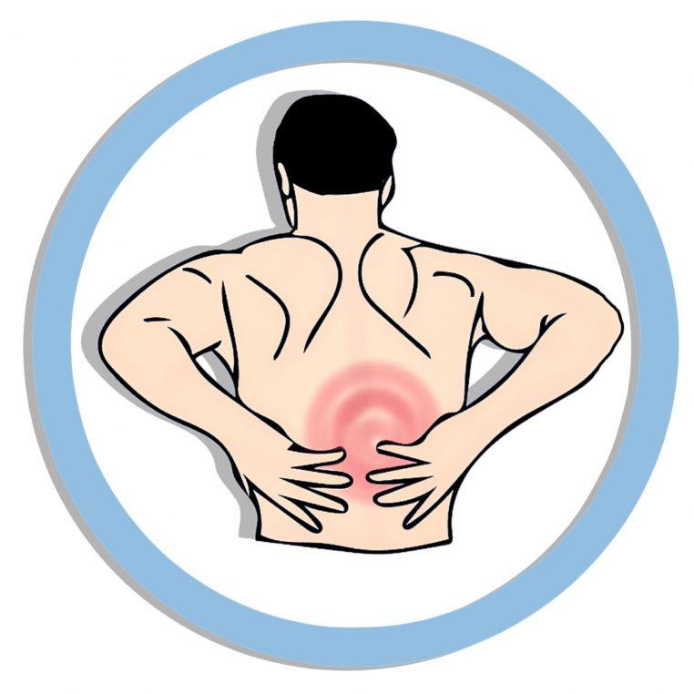 dolor de espalda que se irradia a la ingle con actividad
